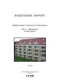 BYGGETEKNISK RAPPORT - Vesterport