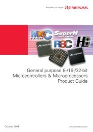 General Purpose 8-/16-/32-bit Microcontrollers and ... - Farnell
