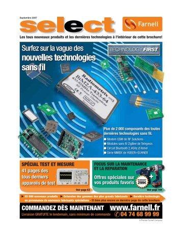 nouvelles technologies sans fil - Farnell