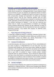 Eclairage – un guide de la législation et des technologies - Farnell
