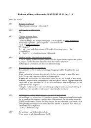 Referat af bestyrelsesmøde 18.05.05 kl.19.00 i nr.110