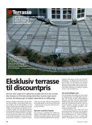 Eksklusiv terrasse til discountpris - Lav-Det-Selv.dk