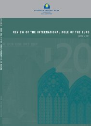 review of the international role of the euro june 2007 - European ...
