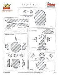 Toy Story Teeter Toys Template
