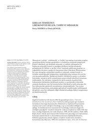 Feray MADEN, Deniz ŞENGEL Kırılan Temsiliyet - Journal of the ...