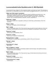 Leveransebeskrivelse - Heggland Utvikling