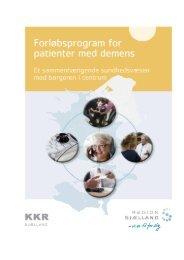 Forløbsprogram for demens - Region Sjælland