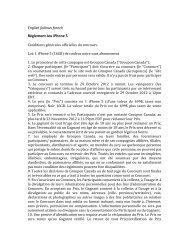 English follows french Règlement Jeu iPhone 5 - Groupon