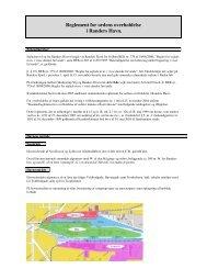 Reglement for ordens overholdelse i Randers Havn.