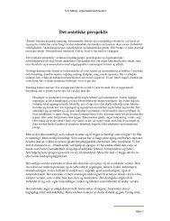 Det æstetiske perspektiv - Tom Mårup - Organisationskonsulent