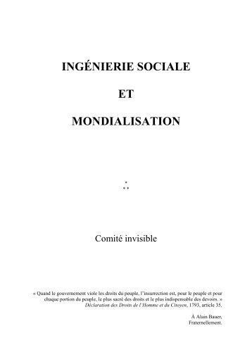 ingénierie sociale et mondialisation - Bibliobs - Le Nouvel Observateur