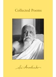 Collected Poems - Sri Aurobindo Ashram