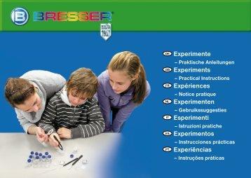 Experimente Experiments Expériences ... - Explore Scientific