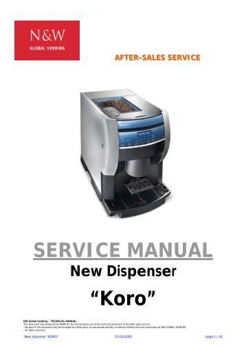 Coffee Maker Service Manual : Service Manual Soluble Coffee Machine - Expert-CM