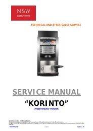 """SERVICE MANUAL """"KORINTO"""" - Expert-CM"""