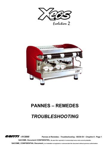pannes – remedes troubleshooting - Expert-CM
