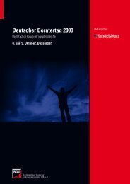 Deutscher Beratertag 2009 - ANXO Management Consulting