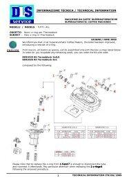 INFORMAZIONE TECNICA / TECHNICAL INFORMATION - Expert-CM