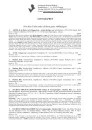 Autographen-Katalog als PDF - Antiquariat Richard Hußlein