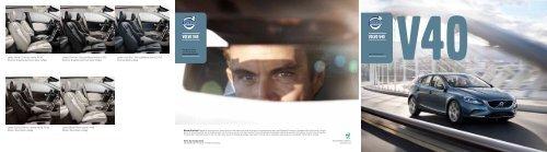 Klik her for at downloade V40 brochuren som pdf - Volvo