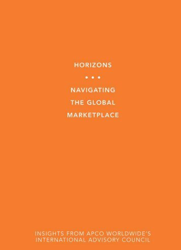 Horizons - APCO Worldwide