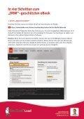 Download und Speicherung von eBooks mit DRM. - DocCheck Load - Seite 3
