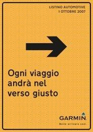 Ogni viaggio andrà nel verso giusto - Garmin GPS