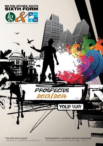 prospectus 2013/2014 - Leon School and Sports College