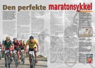 maratonsykkel - Bern Hansen