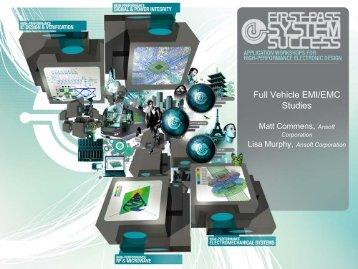 Full Vehicle Electromagnetic EMI/EMC