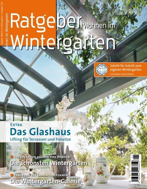 Ratgeber wohnen im Wintergarten (pdf) - Bundesverband ...