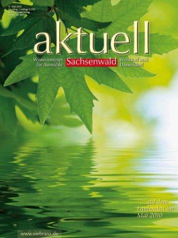 Sachsenwald aktuell
