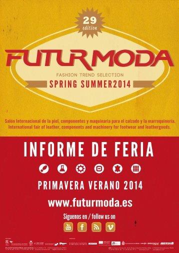Futurmoda Informe de Feria 29 edicion - AEC