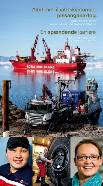 Atorfimmi iluatsikkiartorneq pissanganartoq En ... - Royal Arctic Line