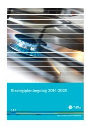 Strategiplan 2014-2025 for Aalborg Forsyning, Gas