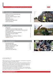 OK's CSR rapport 2011 - OK a.m.b.a.