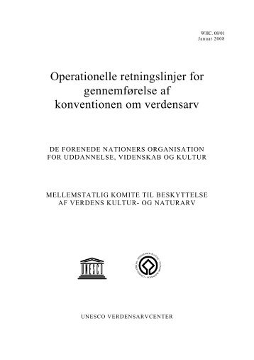 Download Operationelle retningslinjer for gennemførelse af ...