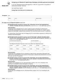 Ansøgning om tilladelse til registrering af køretøjer på danske ... - Skat