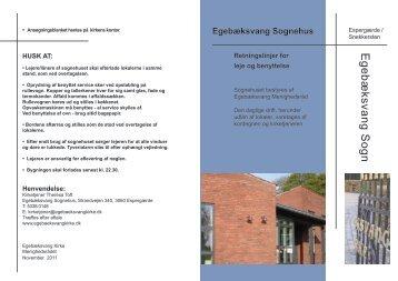 Egebæksvang Sognehus
