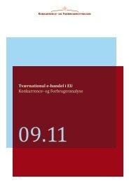 Tværnational e-handel i EU - Konkurrence
