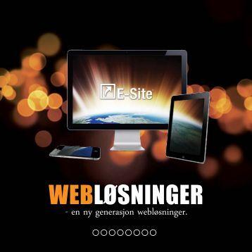 Last ned vår E-Site brosjyre