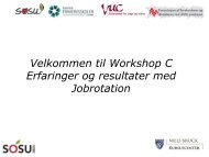 Erfaringer og resultater med jobrotation - Danske Erhvervsskoler