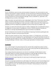 Bestyrelsens beretning - Grundejerforeningen Ny Hvidovre > Forside