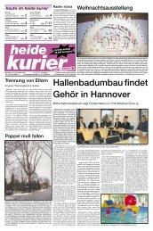 Hallenbadumbau findet Gehör in Hannover