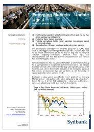 Emerging Markets Update - Uge 4 - 2012 - Sydinvest