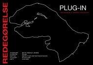PLUG-IN R E D E G Ø R E L S E
