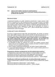 Trattanda Nr. 10.1 coiffureSUISSE 10.1 Istanza del Comitato ...