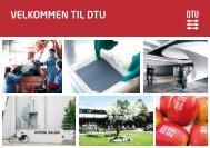 VELKOMMEN TIL DTU - G-Bar - Danmarks Tekniske Universitet