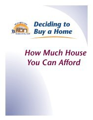 How Much House You Can Afford - Home of My Own