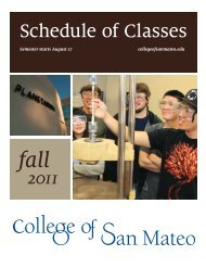 Fall 2011 - College of San Mateo